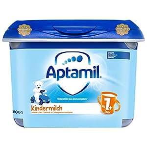 (跨境自营)(包税) Aptamil 德国爱他美 安心罐 配方婴幼儿奶粉1+段 800g( 1岁以上)