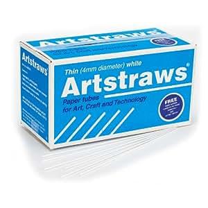 Artstraws 美术吸管 学生套装 薄白色