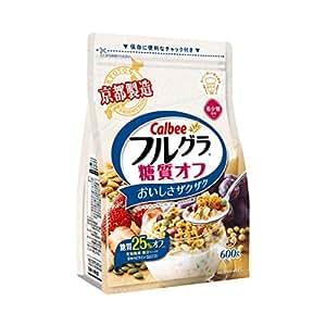 Calbee卡乐比 富果乐糖质OFF麦片 600g(日本进口) (跨境自营,包税)