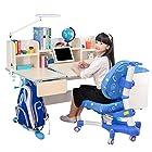 心家宜 M102-M200L 儿童手摇同步升降学习桌椅套装 1699元