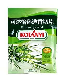 Kotanyi 可达怡 迷迭香切片 25g(奥地利进口)