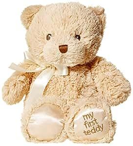 GUND BabyGUND我的第一次泰迪熊毛绒玩具褐色-高10英寸(25cm)(亚马逊进口直采,美国品牌)