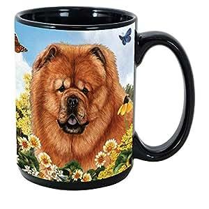 Imprints Plus 犬种 (A-D) 425.24g 咖啡杯捆绑装不可转让 K-Nine 现金 Chow Chow Red GP GB 059B Chow Chow Red