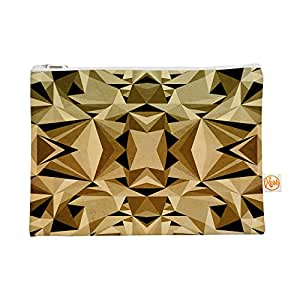 "Kess InHouse Everything Bag Flat Pouch by Nika Martinez 8.5 x 6 Inches ""Abstraction"" (MM1014AEP01)"