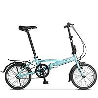 DAHON大行 16寸迷你超轻铝合金折叠自行车成 YRA611 (浅蓝色)