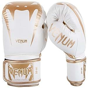 VENUM GIANT 3.0拳击手套 White/Gold 10 盎司