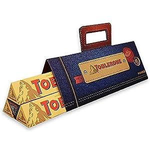 TOBLERONE 瑞士三角 巧克力-牛仔特别版礼盒装 400g(瑞士进口)
