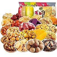 百草味一箱零食大礼包生日礼物网红休闲食品小吃好吃的组合多口味