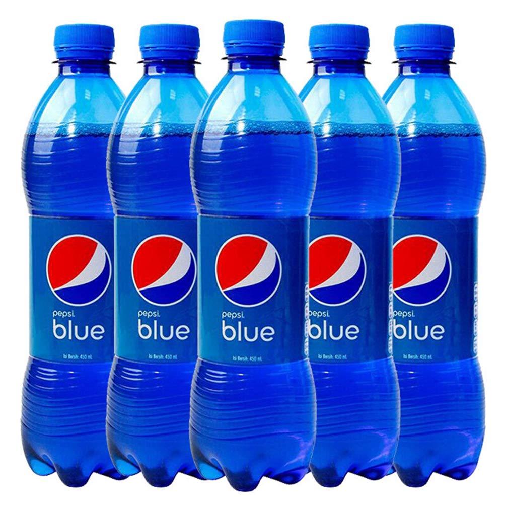 PEPSI 百事可乐 blue 梅子口味可乐 450ml*5瓶