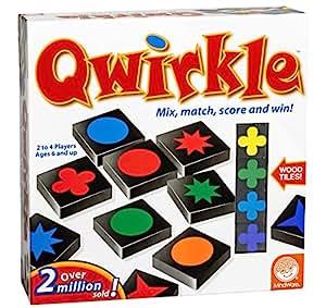 MindWare Qwirkle 瓷砖游戏 Scrabble games None 多种颜色