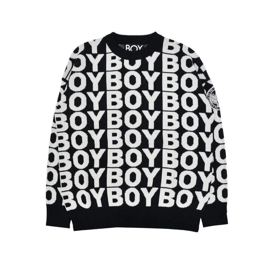 BOY LONDON 中性 毛衣套头衫 BOY AVER JUMPER 2355001