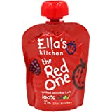 Ella's kitchen 婴幼儿营养辅食—红色混合果泥 90g(进口)