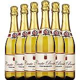【优红酒酒庄直采】新包装发货 意大利卡特罗莎甜白起泡酒整箱6支装 直采原瓶进口香槟式起泡酒 750ml*6(wine)