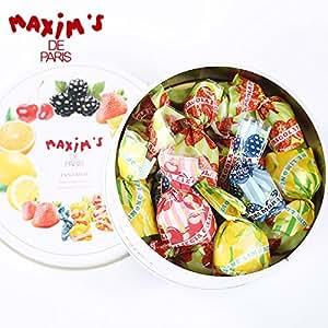 Maxim's 马克西姆 什锦夹心水果糖 水果太妃软糖 100g(意大利进口)(亚马逊自营商品, 由供应商配送)