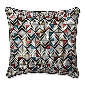 Pillow Perfect 室内 Basenji 橘色多色抱枕 多种颜色 18-Inch 618555