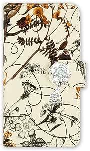 whitenuts 壳 手册式 装饰品WN-OD122544 3_ Galaxy S6 edge SC-04G SCV31 404SC 紫色