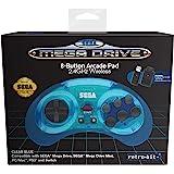 Retro-bit Official Sega Mega Drive 8-Button 2.4Ghz Wireless…
