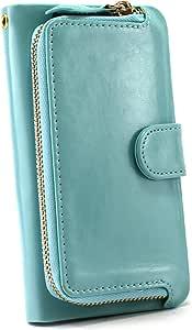 whitenuts 壳 手册式 带硬币袋WN-OD202559 21_ P-07C 蓝色