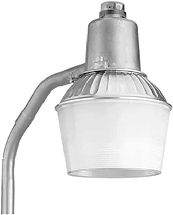 Lithonia Lighting TDD65L 120 M2 10-Inch 65W Fluorescent Outdoor Security Light with Lamp, Gray