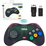 retro-bit SEGA Saturn® 8-Button Arcade Pad 2.4GHz Wireless S…