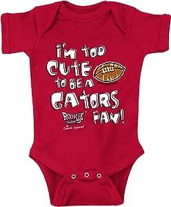 佐治亚斗牛犬粉丝。 Too 可爱红色连体衣 (NB-18M) 和幼童 T 恤 (2T-4T) 红色 18M