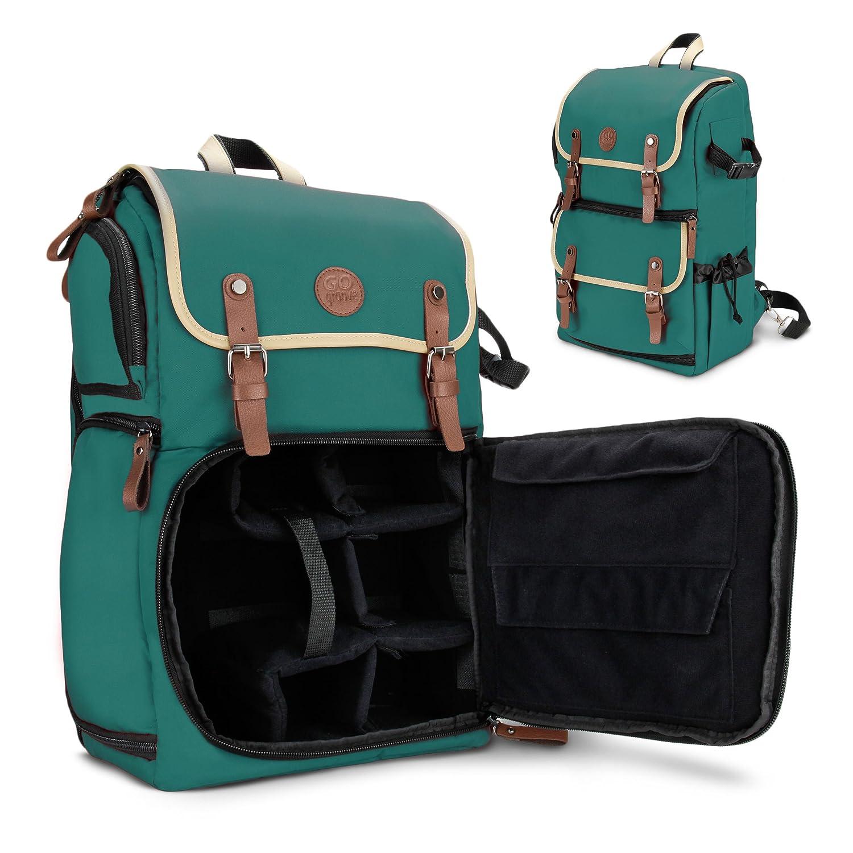 单反相机包gogroove专业摄影包背包电脑包自由组合内格带有防雨罩三