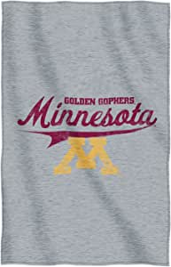 NCAA Minnesota Golden Gophers Script Sweatshirt Throw, 54-inches by 84-inches - by The Northwest Company
