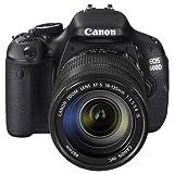 Canon 佳能 EOS 600D 数码单反套机(EF-S 18-135mm f/3.5-5.6 IS 镜头)