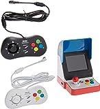Game Monkey Neogeo Mini Pro Player Pack 美国版 - 包括 2 个游戏垫(1 个黑…