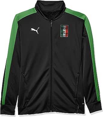 PUMA 男士 Copa America T7 夹克 Puma Black/Amazon Green X-Large