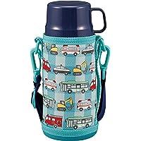 CAPTAIN STAG 水壶 直饮 水杯 饮用 双层不锈钢水杯 真空隔热 保温 保冷 2WAY 儿童水杯 600ml…