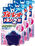 ( 批量购买 ) ブルーレットドボン 2倍马桶水箱清洗剂薰衣草120G × 3个